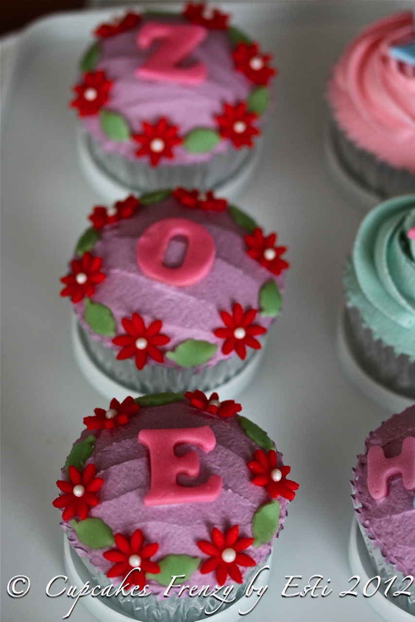 Zoes Birthday Cupcakes Frenzy