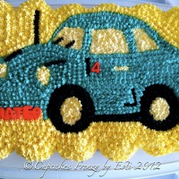 Beetle Bug Pull Apart Cupcakes Cake