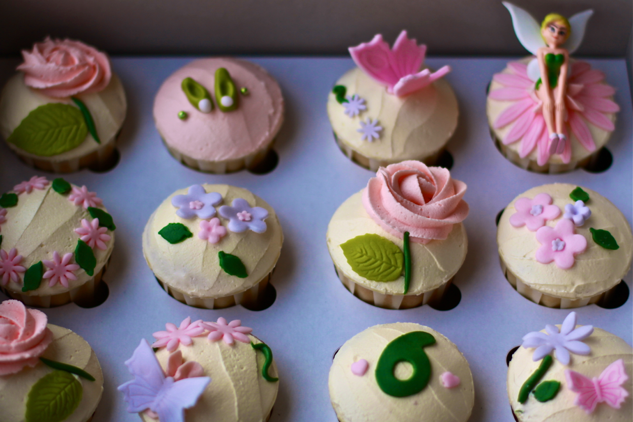 Tinker Bell Cupcakes Frenzy