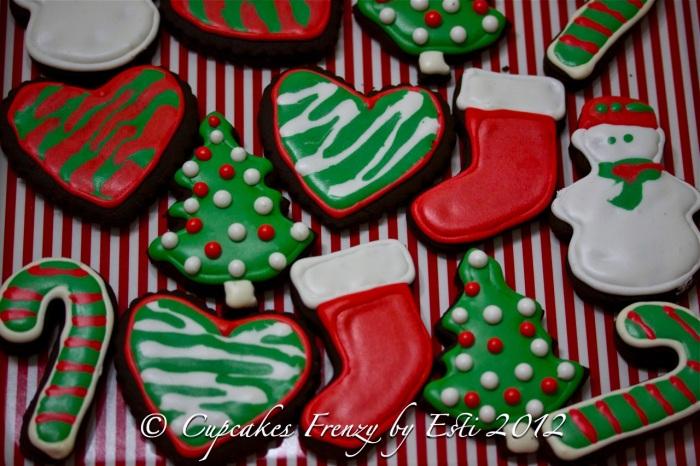 Large Xmas cookies