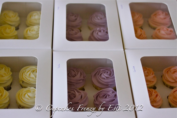 boxes of roses