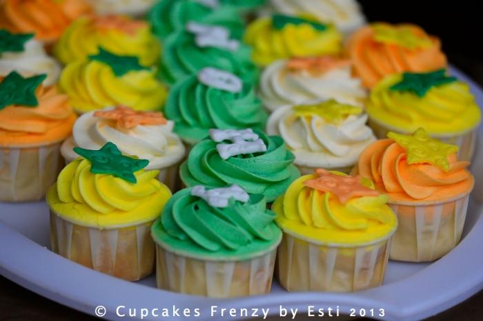 Thomas Bday Cupcakes