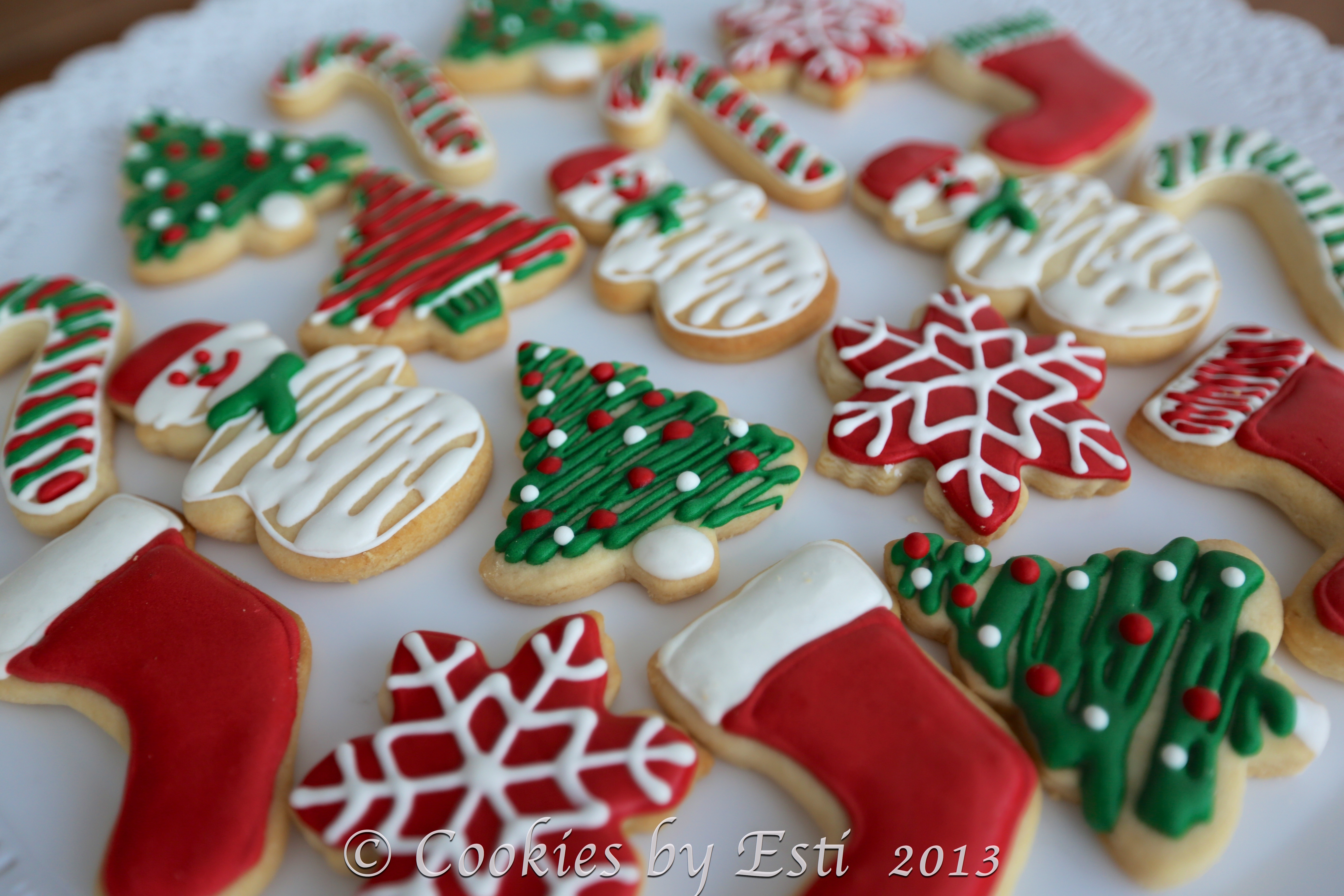 Christmas Cookies Cupcakes Frenzy