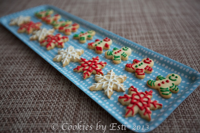 © Esti 2013 mini xmas cookies