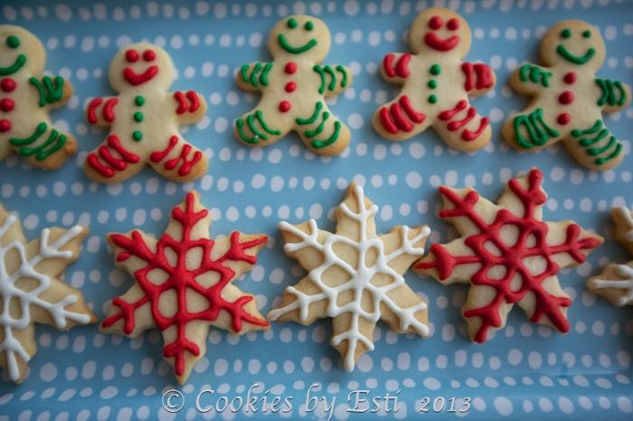 © Esti 2013-snowflakes cookies