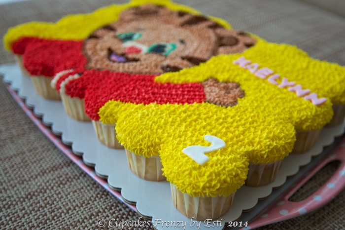 Daniel The Tiger Cupcakes Frenzy