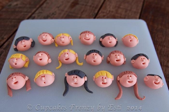 © Esti 2014 figurine face