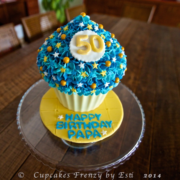 © Esti 2014 giant cupcake 50th