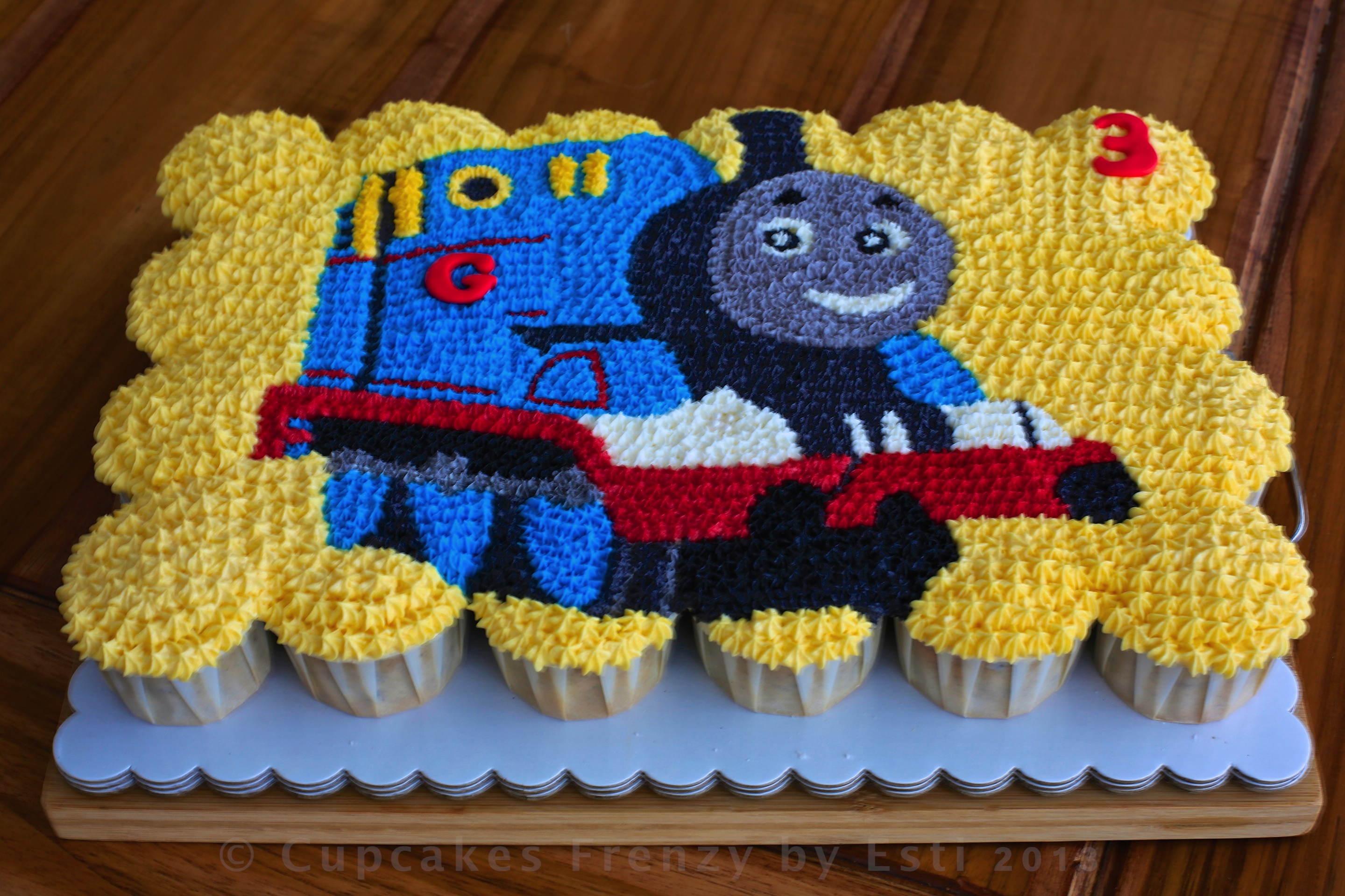 Thomas The Train Cupcakes Frenzy