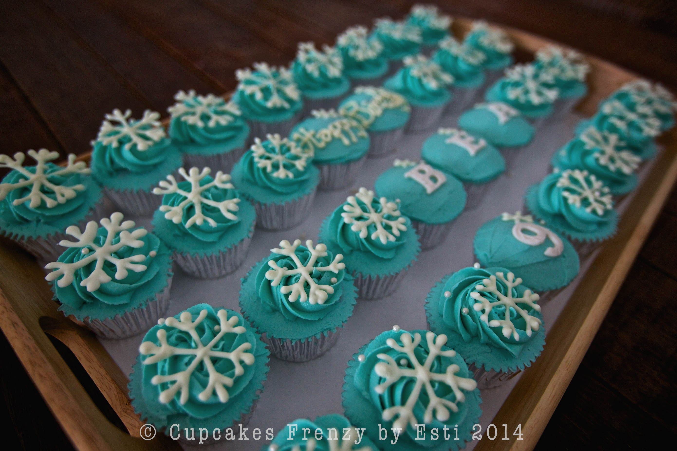 Ice Skating Party Cupcakes Frenzy