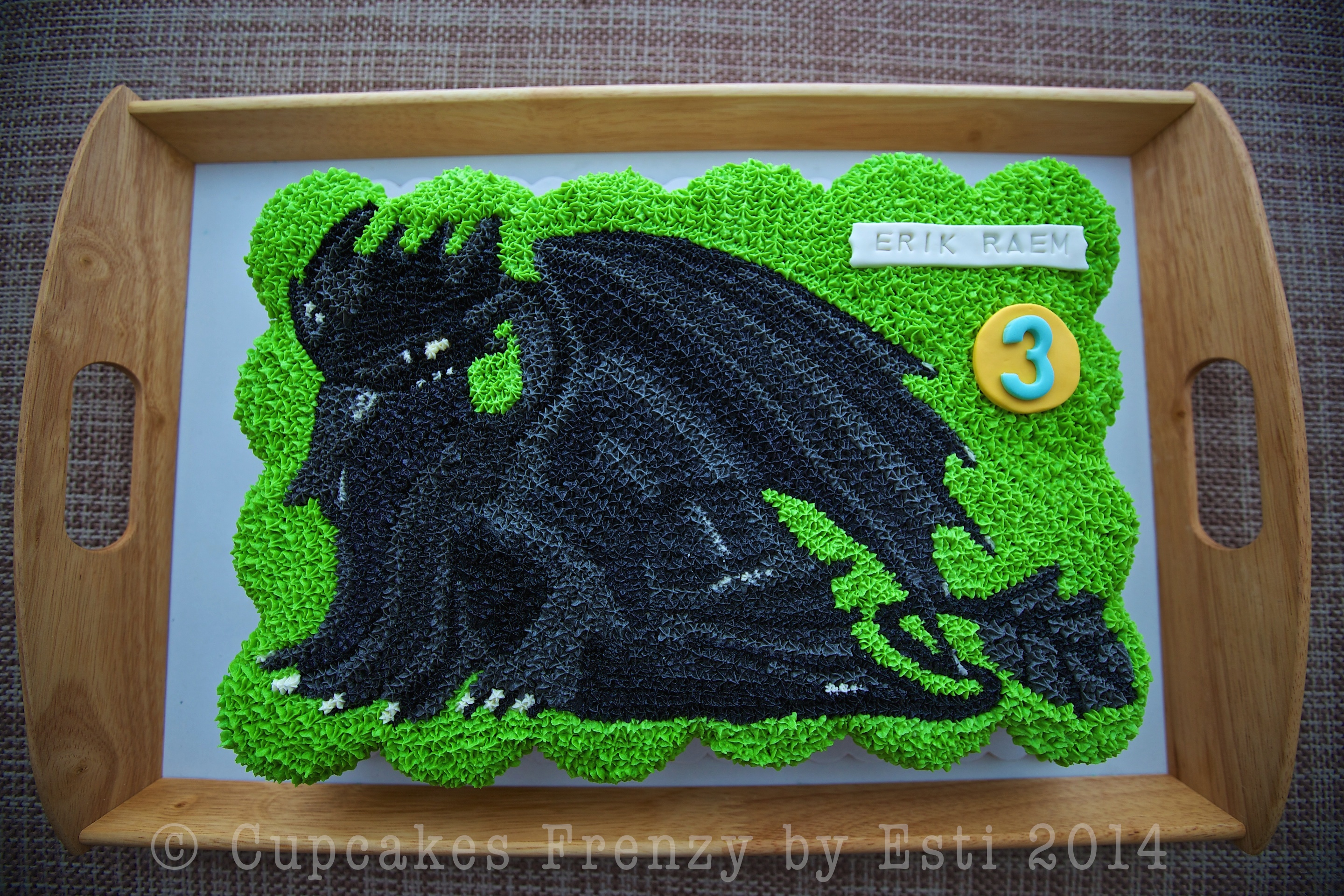 Toothless Cupcake Cupcakes Frenzy