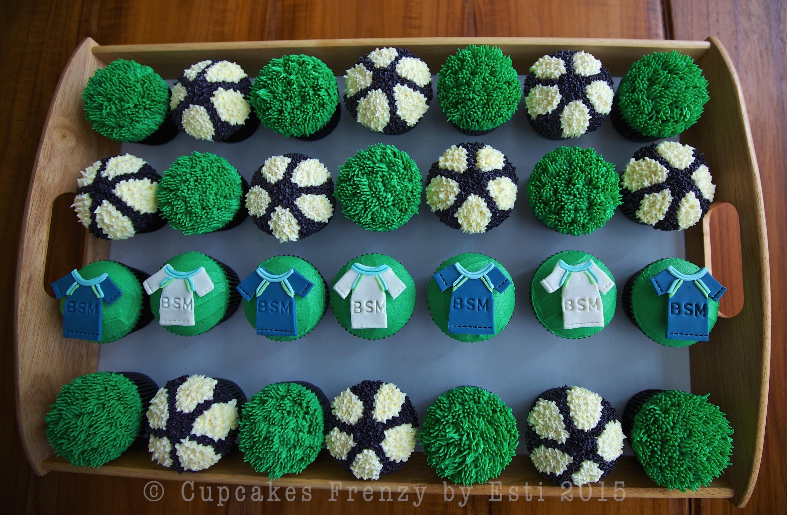 Football Cupcake Cupcakes Frenzy