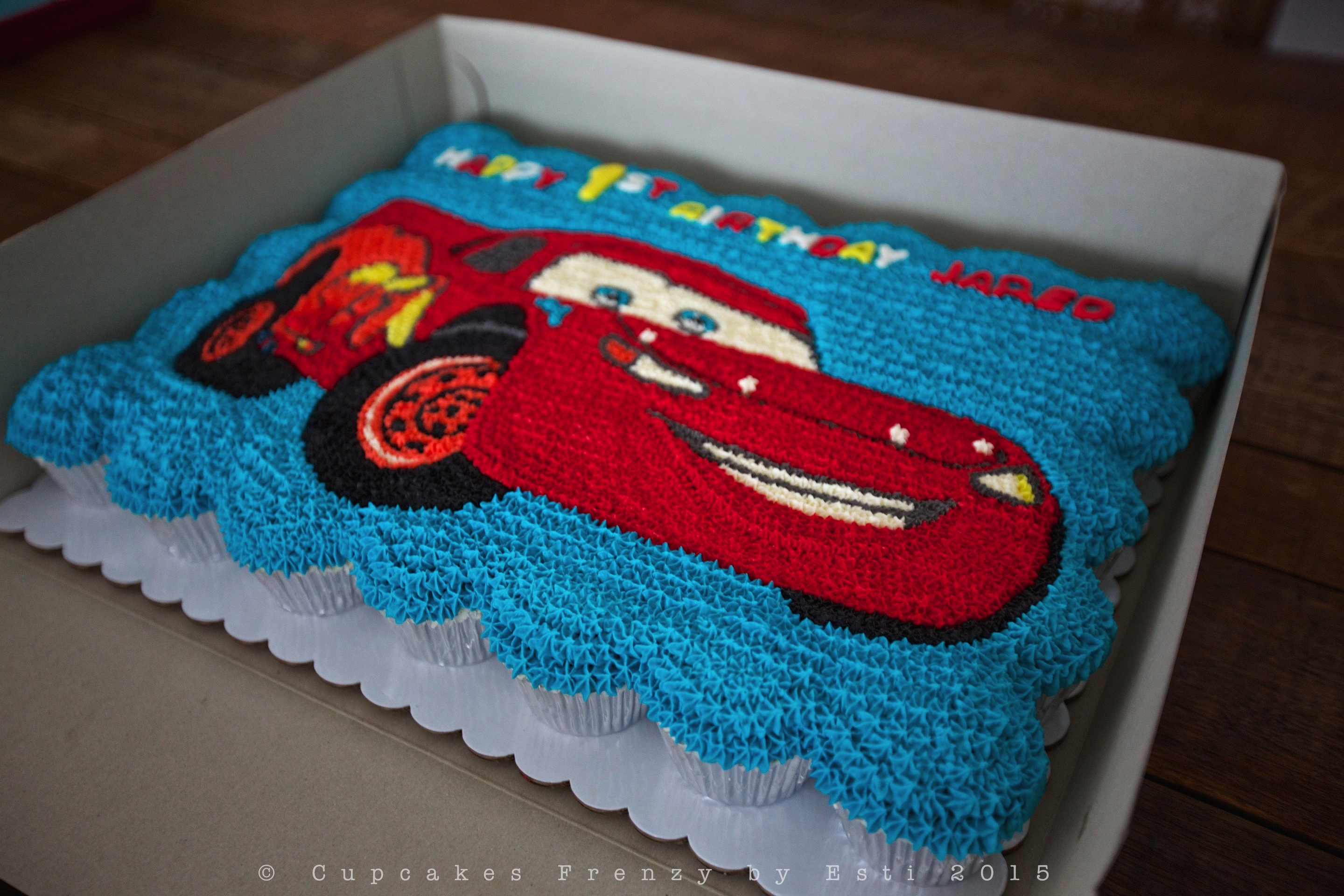 lightning mcqueen cupcake Cupcakes Frenzy