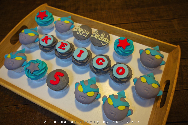 ultraman cupcake Cupcakes Frenzy