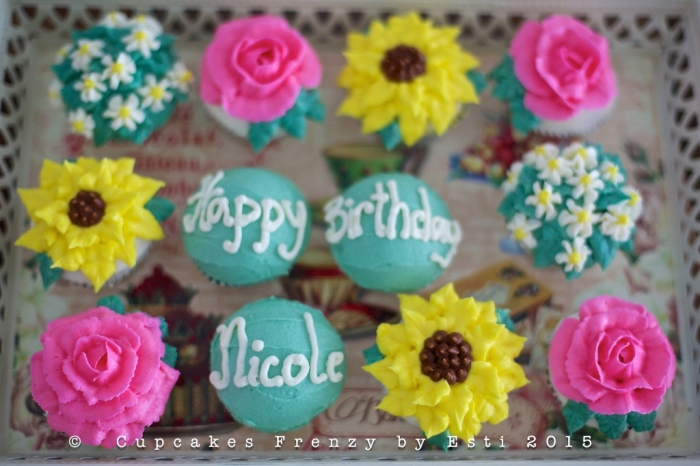 Esti nicole's bday cupcake