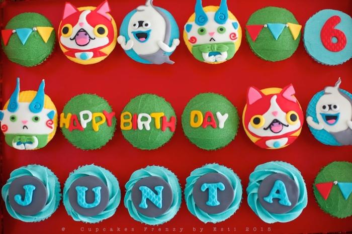 Junta birthday Komasan, Jibanyan & Whisper