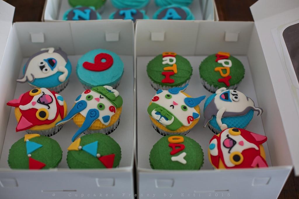 Yo Kai Watch Cupcake Cupcakes Frenzy