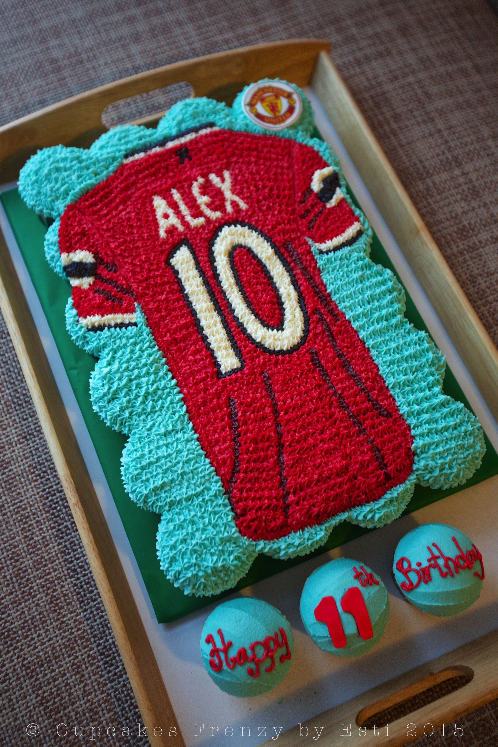 Football Jersey Cupcake Cupcakes Frenzy