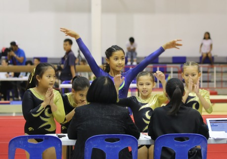gymnast-salute